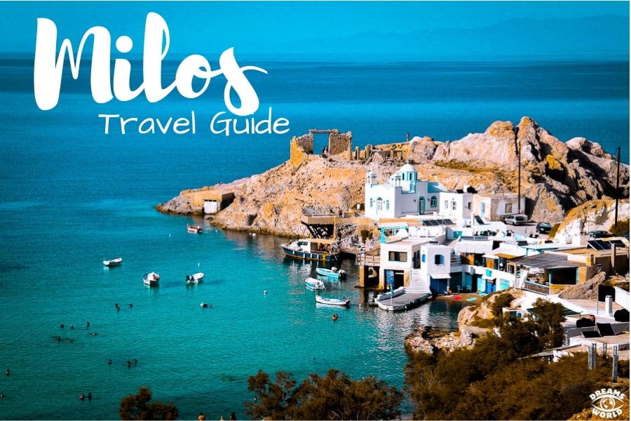 Milos cyclade grece