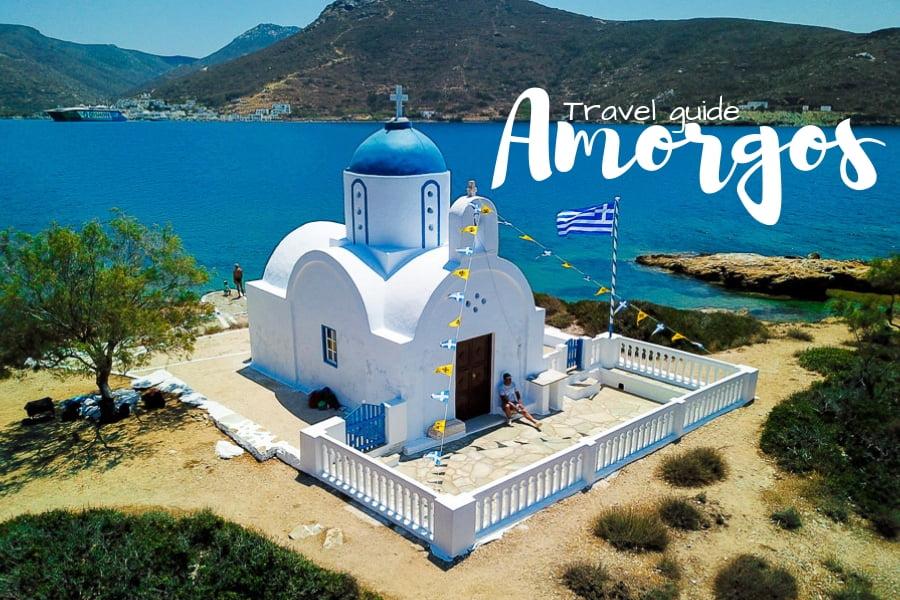 Amorgos cyclades grece
