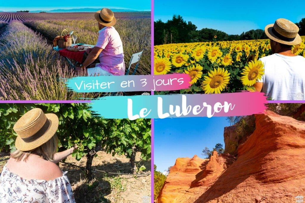 Visiter le Lubéron en 3 jours