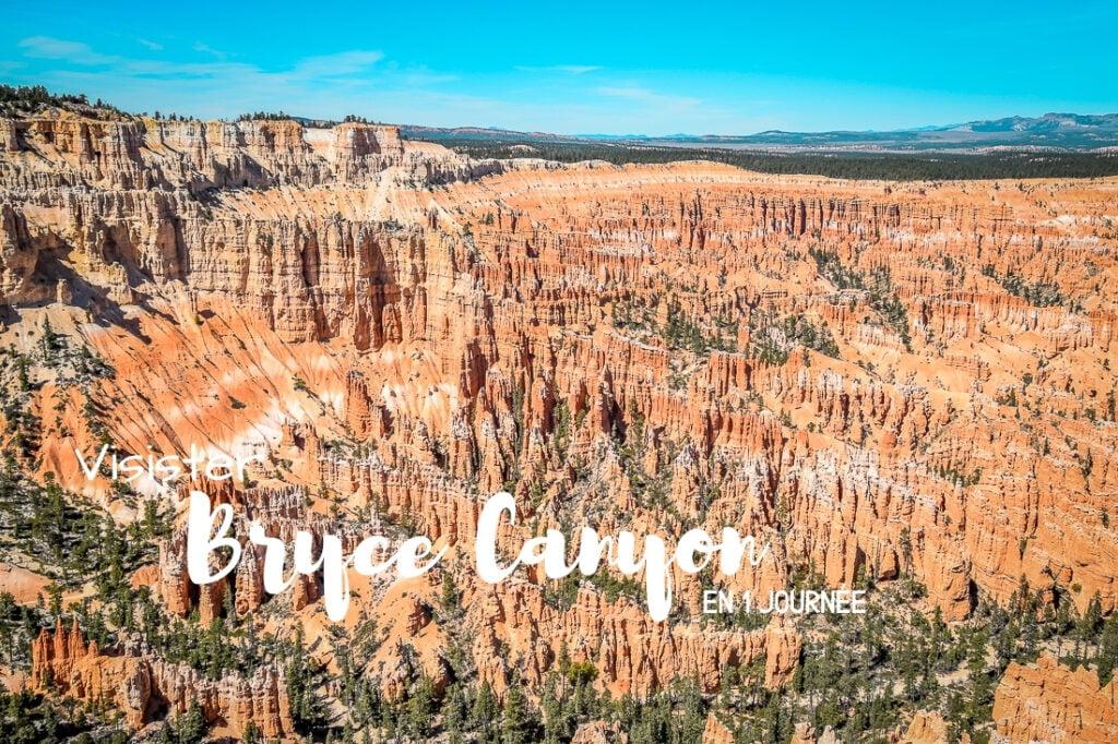 Visiter Bryce Canyon en 1 journée