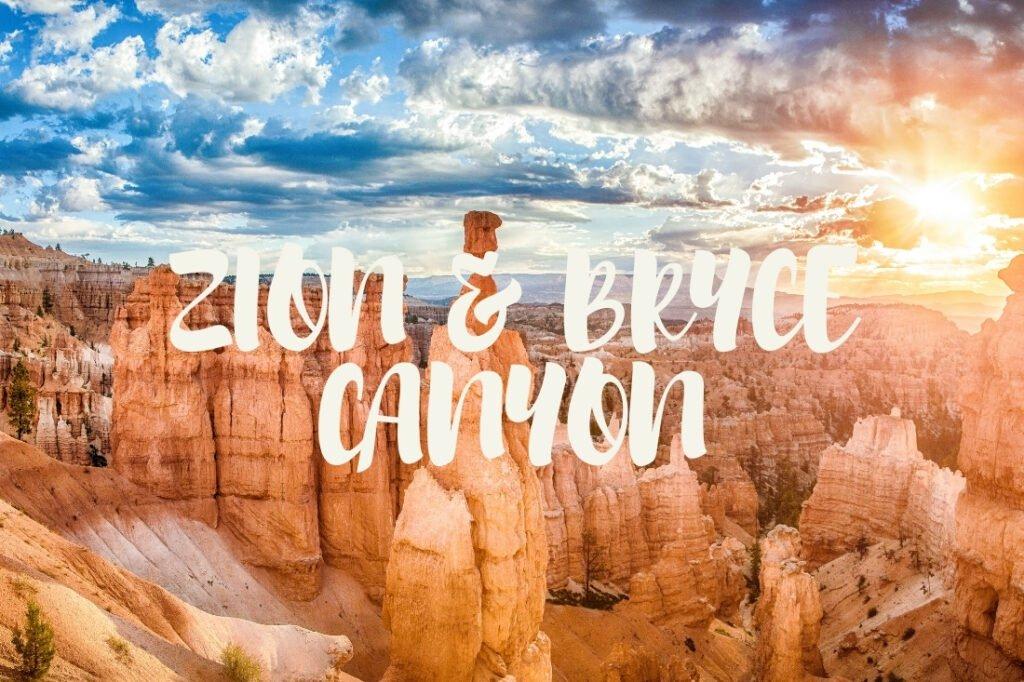 Vidéo Bryce Canyon et Zion National Park